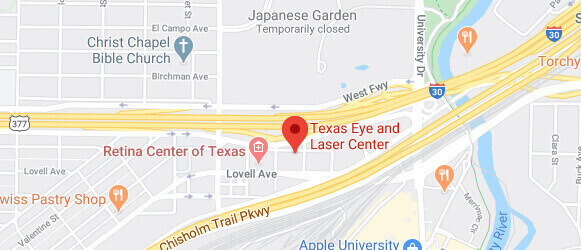 Map of Our Fort Worth Location