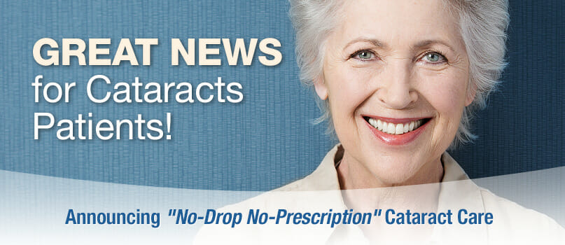 Great News for Cataract Patients Promotion