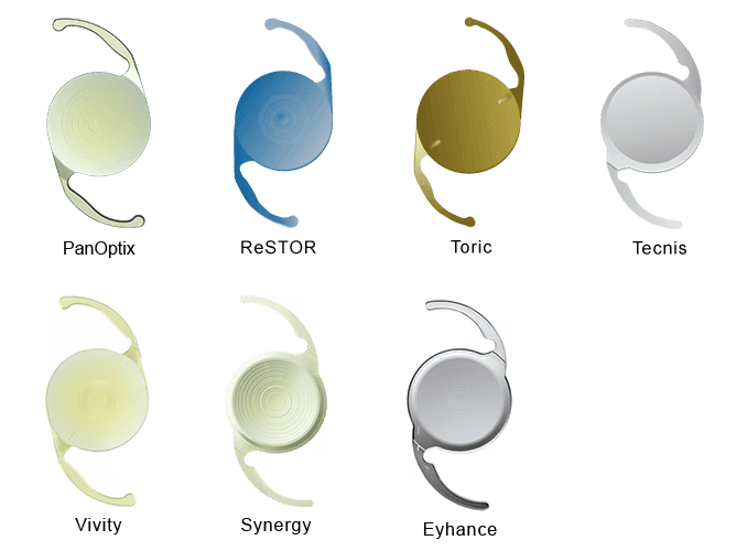 Intraocular Lens Examples