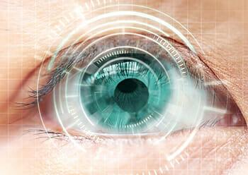 LASIK Eye Surgery Graphic